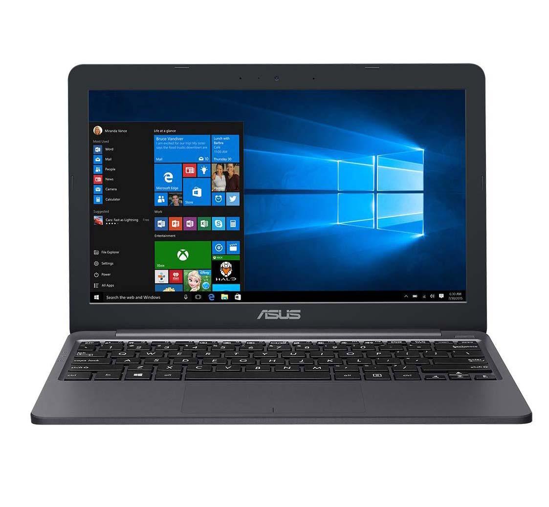 Asus Laptop E12 CELERON N3350, 4GB RAM, 64GB EMMC, INTEL ( GREY)